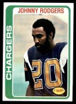 1978 Topps #63  Johnny Rodgers  Front Thumbnail