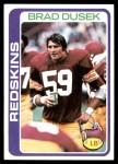 1978 Topps #111  Brad Dusek  Front Thumbnail