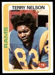 1978 Topps #18  Terry Nelson  Front Thumbnail