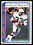 1978 Topps #168   Super Bowl XII Front Thumbnail