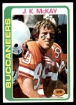 1978 Topps #246  J.K. McKay  Front Thumbnail