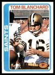 1978 Topps #11  Tom Blanchard  Front Thumbnail