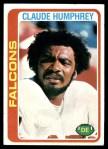 1978 Topps #230  Claude Humphrey  Front Thumbnail