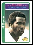 1978 Topps #170  Cleveland Elam  Front Thumbnail