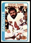 1978 Topps #181  Steve Zabel  Front Thumbnail