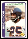 1978 Topps #177  Haven Moses  Front Thumbnail
