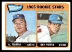 1965 Topps #331   -  Al Ferrara / John Purdin Dodgers Rookies Front Thumbnail