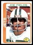 1978 Topps #161  Joe Fields  Front Thumbnail