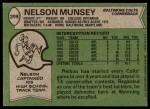 1978 Topps #299  Nelson Munsey  Back Thumbnail