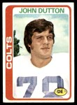 1978 Topps #280  John Dutton  Front Thumbnail