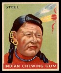 1947 Goudey Indian Gum #73   Steel Front Thumbnail