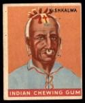 1947 Goudey Indian Gum #65   Kishkalwa Front Thumbnail