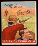 1947 Goudey Indian Gum #84   Caught In Circle Front Thumbnail