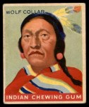 1947 Goudey Indian Gum #93   Wolf Collar Front Thumbnail