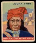 1947 Goudey Indian Gum #50   Acoma Tribe Front Thumbnail