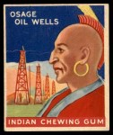 1947 Goudey Indian Gum #81   Osage Oil Wells Front Thumbnail