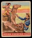 1947 Goudey Indian Gum #90   Unhorsed Front Thumbnail