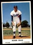1961 Bell Brand Dodgers #38  Roger Craig     Front Thumbnail