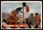 1956 Topps Davy Crockett #67 ORG  -     Storming The Walls  Front Thumbnail