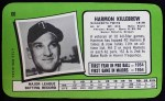 1971 Topps Super #60  Harmon Killebrew  Back Thumbnail