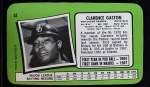 1971 Topps Super #52  Cito Gaston  Back Thumbnail