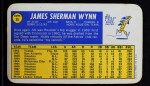 1970 Topps Super #35  Jim Wynn  Back Thumbnail