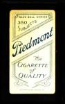 1909 T206  Bill Dineen  Back Thumbnail