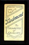 1909 T206  Jim Stephens  Back Thumbnail