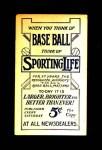 1910 M116 Sporting Life PAS Larry Doyle   Back Thumbnail