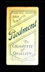 1909 T206  Spike Shannon  Back Thumbnail