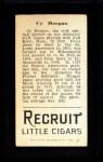 1912 T207  Cy Morgan    Back Thumbnail
