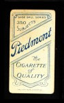 1909 T206  Fred Beck  Back Thumbnail
