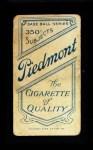 1909 T206 THR Wild Bill Donovan  Back Thumbnail