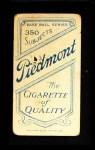 1909 T206  Owen Wilson  Back Thumbnail