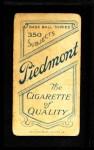 1909 T206  John McAleese  Back Thumbnail