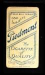 1909 T206  Doc Marshall  Back Thumbnail