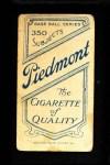 1909 T206 BAT Jack Knight  Back Thumbnail