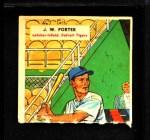 1955 Topps DoubleHeader #9 #10 J.W. Porter / Thornton Kipper  Back Thumbnail