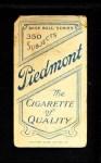 1909 T206  Moose McCormick  Back Thumbnail