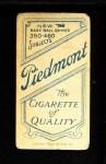 1909 T206 PCH Rube Marquard  Back Thumbnail