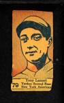 1928 W513 #79    -  Tony Lazzeri   Front Thumbnail