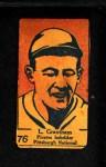 1928 W513 #76    -  L. Grantham   Front Thumbnail