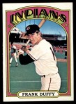 1972 Topps #607  Frank Duffy  Front Thumbnail