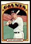 1972 Topps #693  Alan Gallagher  Front Thumbnail