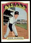 1972 Topps #658  Steve Dunning  Front Thumbnail