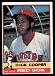 1976 Topps #78  Cecil Cooper  Front Thumbnail
