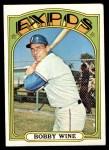 1972 Topps #657  Bobby Wine  Front Thumbnail