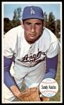 1964 Topps Giants #3  Sandy Koufax  Front Thumbnail