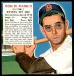 1952 Red Man #5 AL x Dom DiMaggio  Front Thumbnail