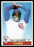 1979 Topps #98  Ray Burris  Front Thumbnail